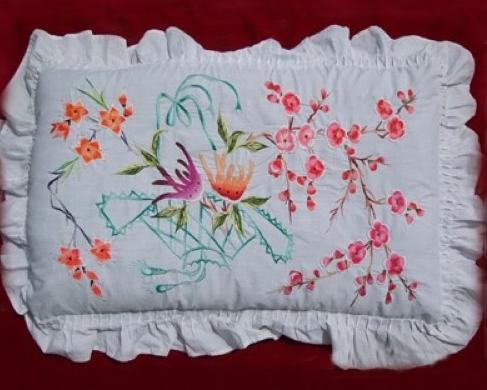 洮州刺绣 一针一线 发扬传统文化图片
