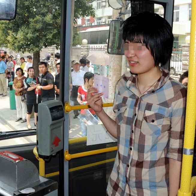 高考期间西安考生持准考证可免费乘坐公交车