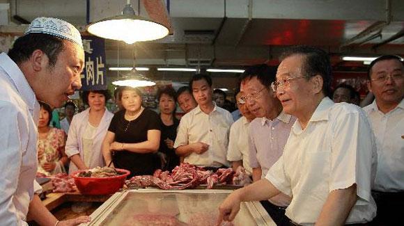 总理在辽宁考察