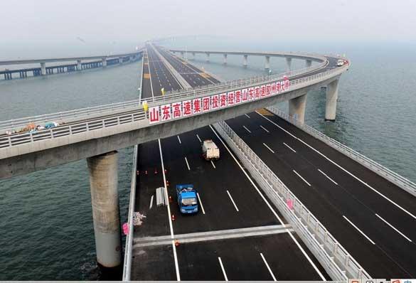 世界最长跨海大桥验收