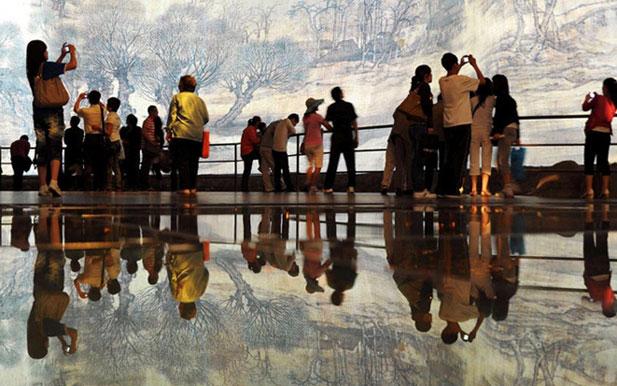 上海世博会中国馆开始撤展