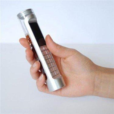 史上最易用生物电池手机 用可乐当电源
