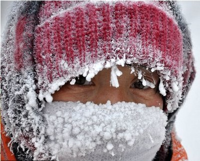 呼伦贝尔再现零下46摄氏度极寒天气