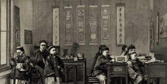 珍贵老照片:不同时期的中国学堂