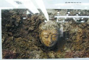 邺城遗址佛像