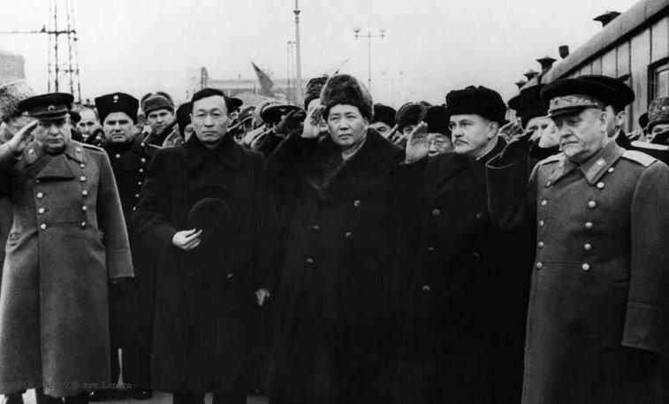 建国后毛泽东外交风采