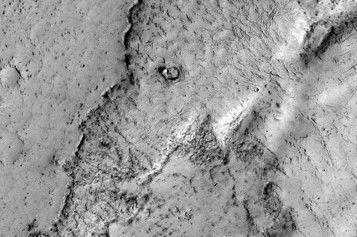 火星熔岩流似大象
