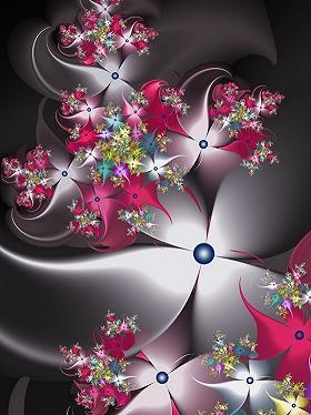 分形艺术作品(18)--Fadingflowers