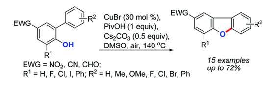 新方法合成二苯并呋喃及其衍生物
