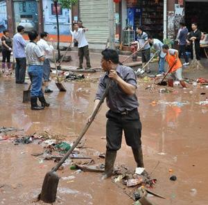 120万人受灾 湖南中西部地区出现洪涝灾害