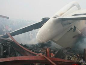 尼日利亚客机坠毁