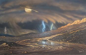 研究发现土星也下雨 前往观光请带伞
