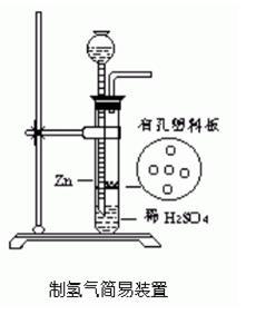 制氢气简易装置