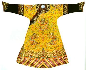 古代皇帝的龙袍