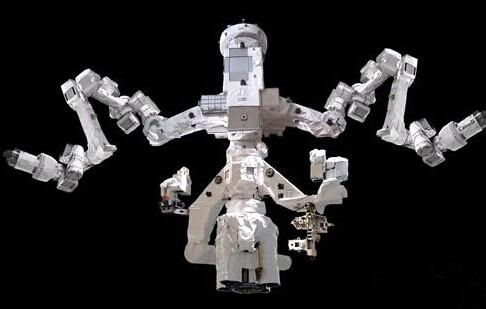 美将太空组装双臂机器人