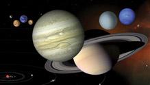 宇宙中天体大小真实比较!