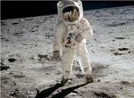 美国登月45周年纪念图片展