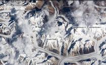 从国际空间站看世界各大高峰