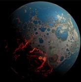 40亿年前地球遭受小行星碰撞导致严重整容