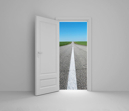 2014年浙江高考满分作文:我的路我的门