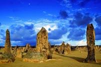 沙漠上摆怪石阵--澳大利亚南邦国家公园