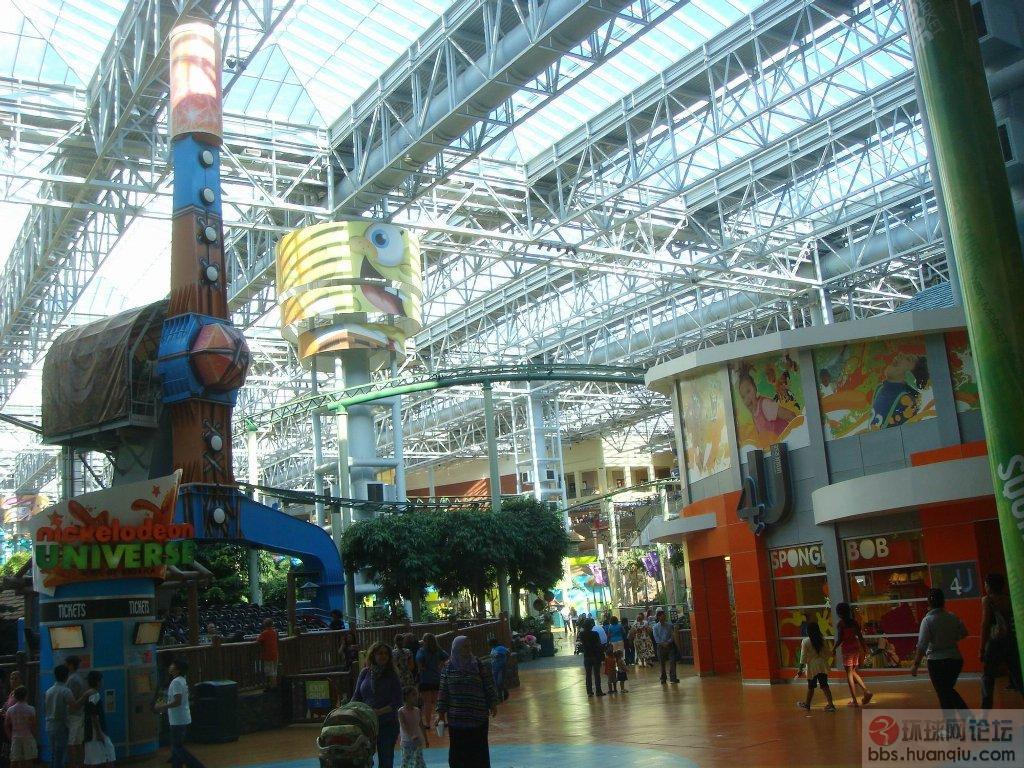 世界大型购物中心 美国商城 双语
