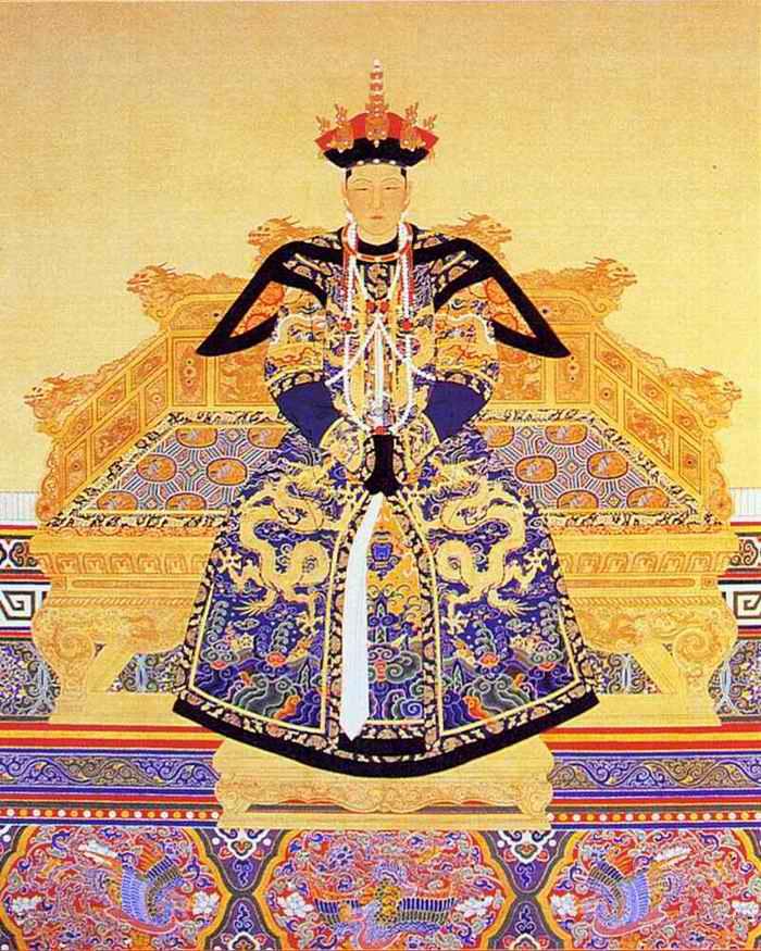 清朝23位绝色皇后