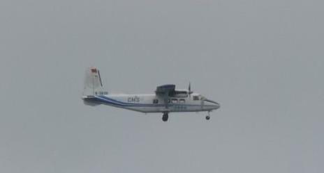 中国海监运-12再次巡航钓鱼岛 日战机紧急升空