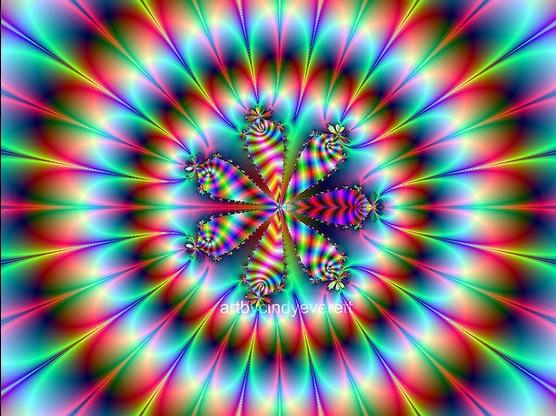 分形艺术作品(49)--FlowerPowersKaleidostyle