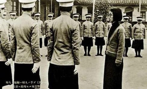 民国和日伪时期的中国女警察