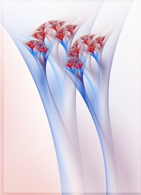 分形艺术作品(50)--glassflower