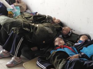 小学生运动会入场式一小时晕倒20人 体质堪忧
