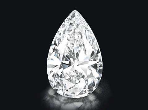 101克拉钻石拍出2670万美元天价 名为传奇
