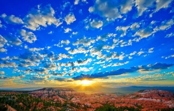 美国大峡谷国家公园的日出