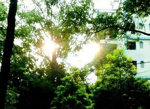 """重庆""""两个太阳""""奇景"""