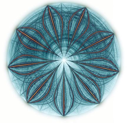 完美的数学声谱图案6