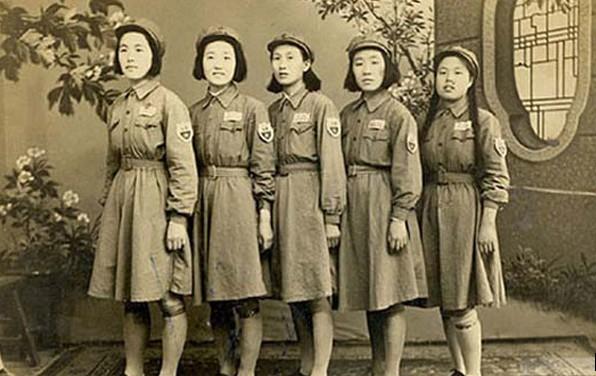 1949年徐州市公安局全体女警合影
