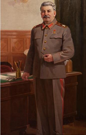 斯大林肖像