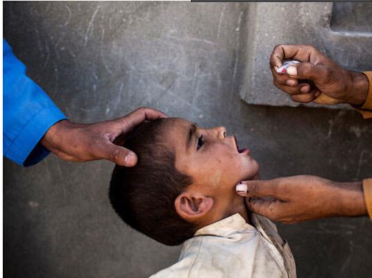 小儿麻痹症在亚洲非洲死灰复燃