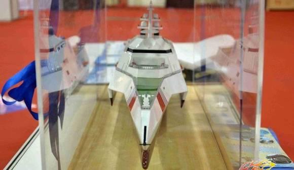 中国三体海事执法船曝光 酷似美军濒海战斗舰