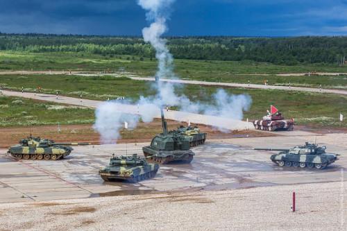 俄媒披露8月俄坦克赛:仅中国军人驾驶本国坦克