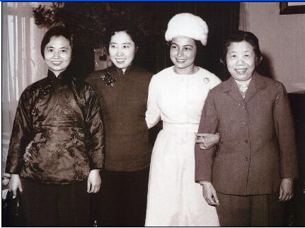 第一代夫人外交的代表人物