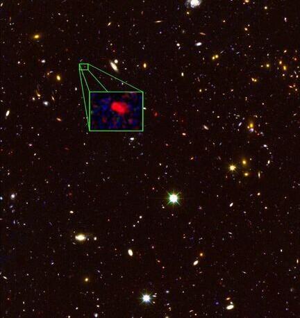 天文学家发现迄今最遥远星系